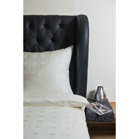 Classic Kockás elefántcsontszín párna huzat 40 x 60 cm