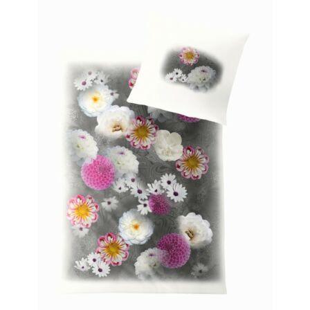 Trend Pink Dahlia párna huzat 40 x 60 cm